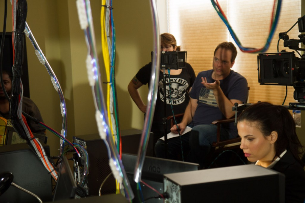Directing a TV commercial